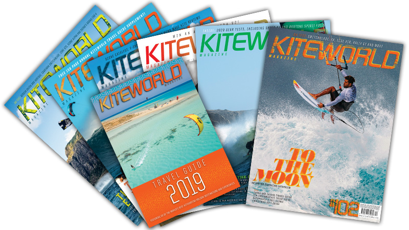 Kiteworld Magazine cover collection