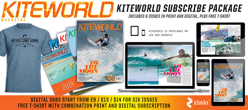 Kiteworld Magazine subscribe options