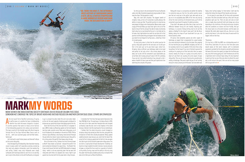 Mark Shinn's Kiteworld magazine column