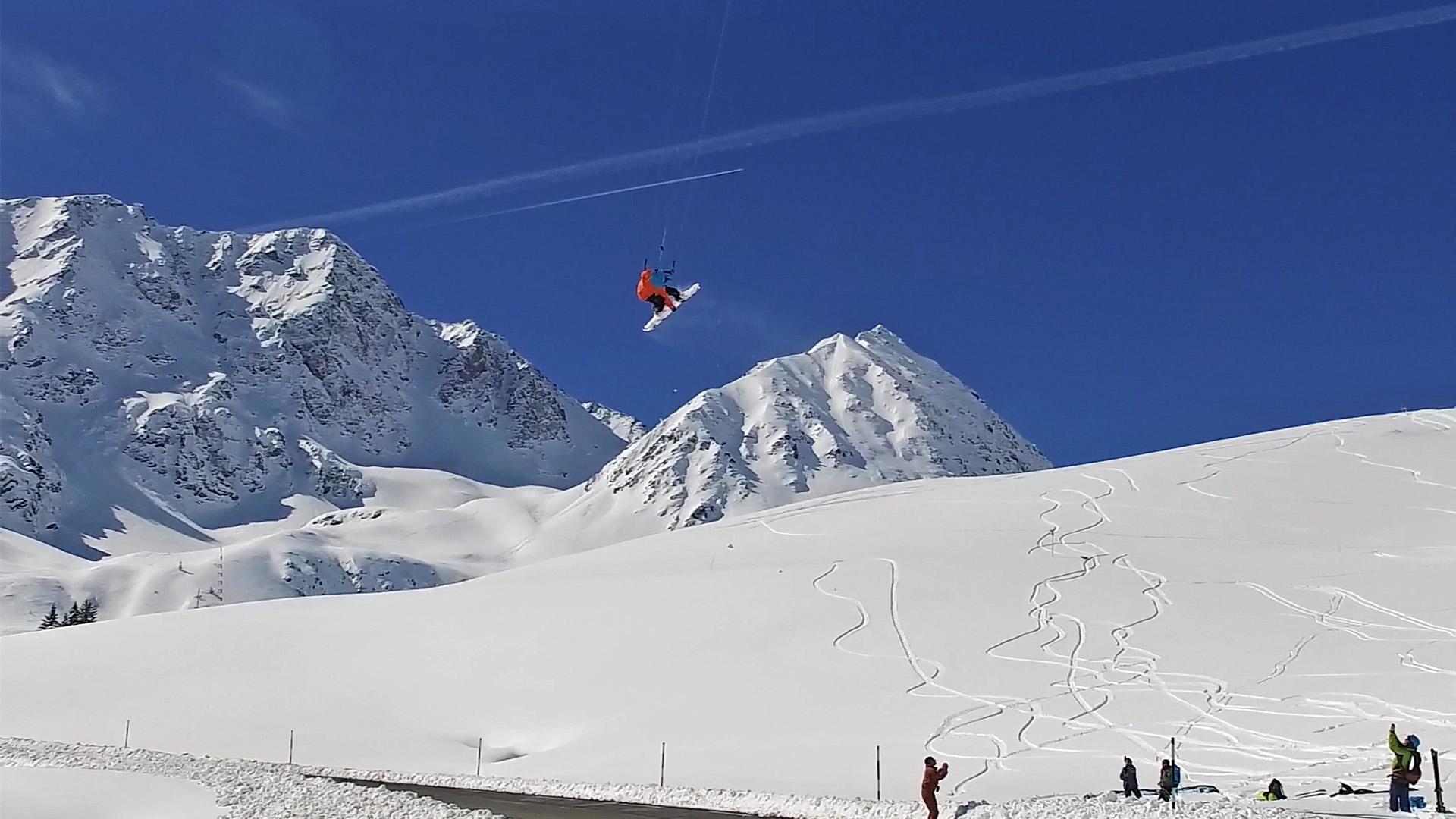 Flysurfer Snow Kiting