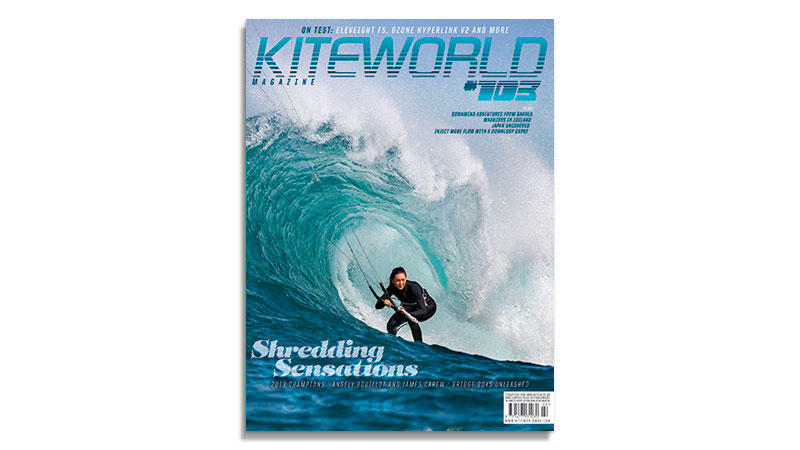 Kiteworld Issue 103 cover featuring Moona Whyte