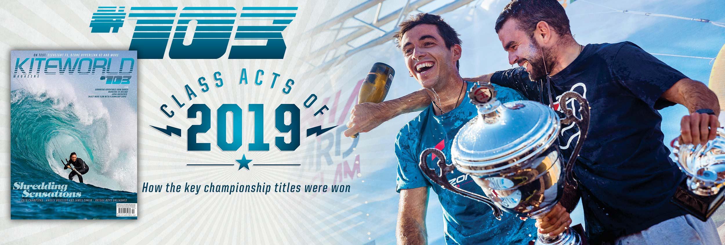 Kite racing champions