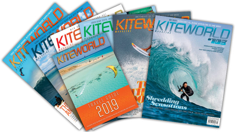 Kiteworld Magazine subscribe package