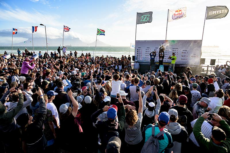 Red Bull King of the Air 2020 podium