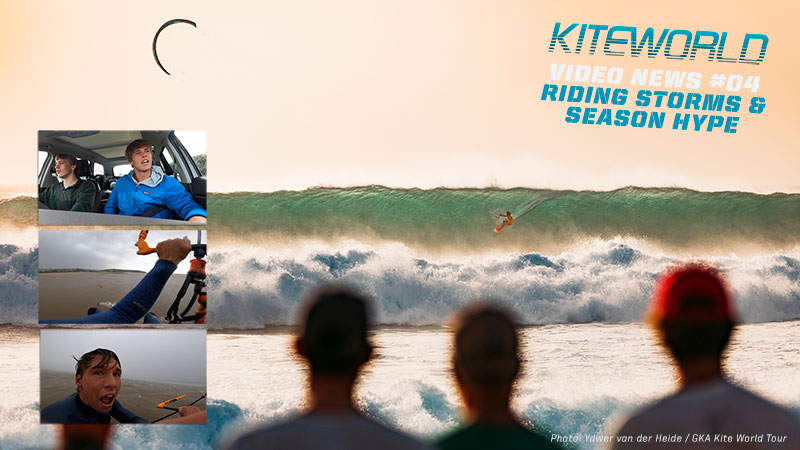 Kiteworld video news 04 Riding Storms