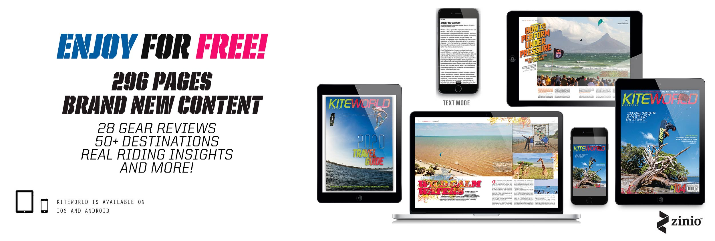 Free to read Kiteworld issue 104 and Travel Guide
