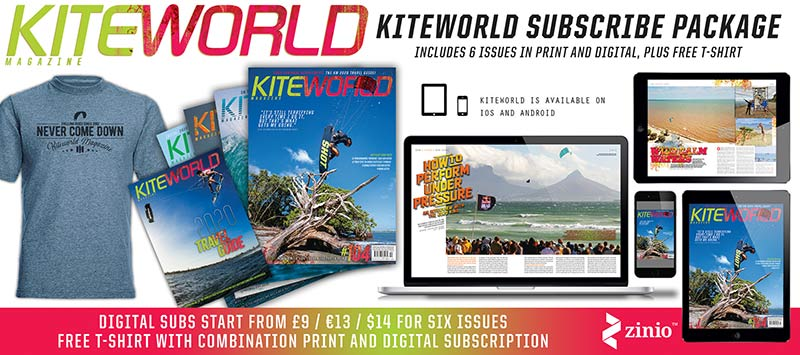 Subscribe to Kiteworld Magazine print and digital