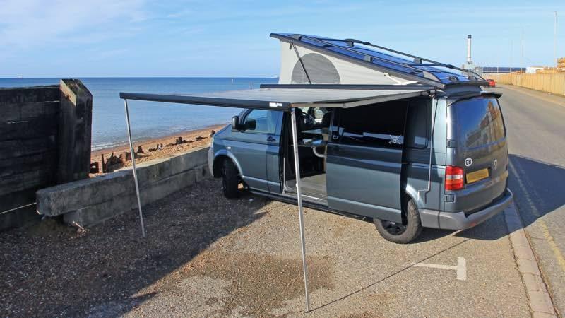 Lionel Hatch's completed VW van
