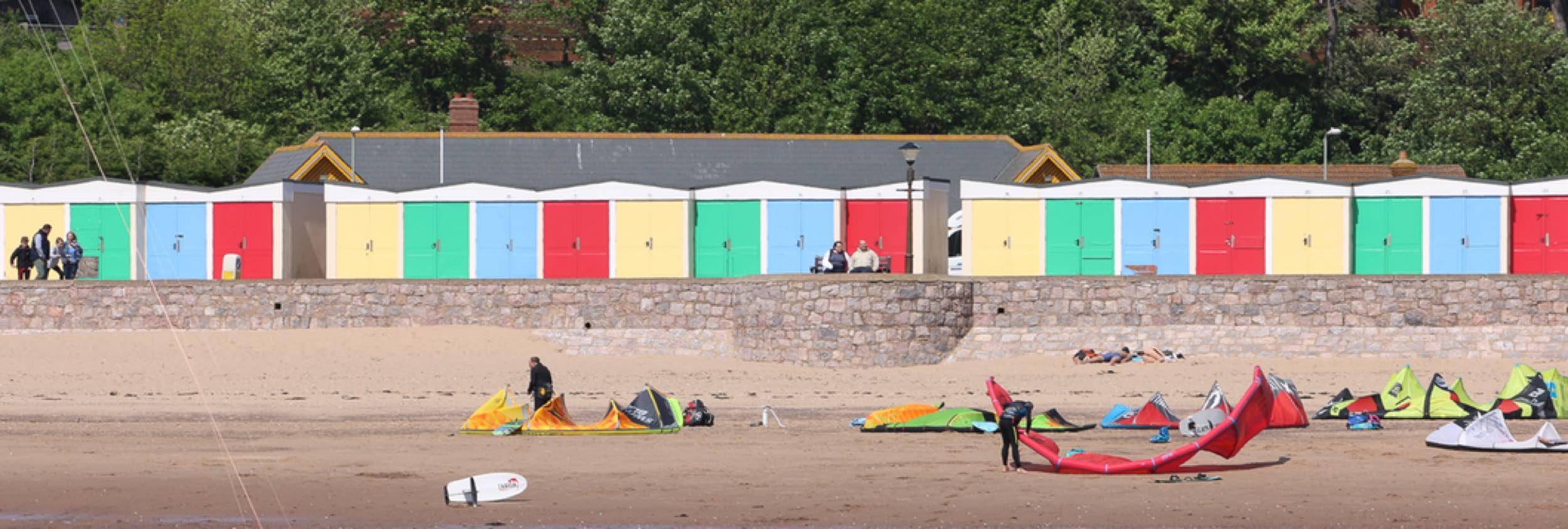 Exmouth kite beach