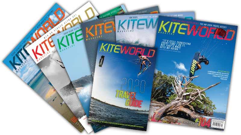 Kiteworld Magazine issues
