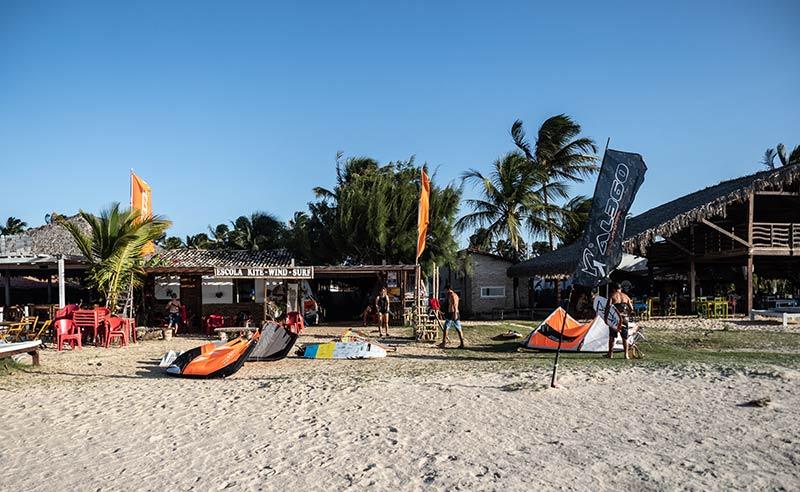 SA Barra kite school, Brazil
