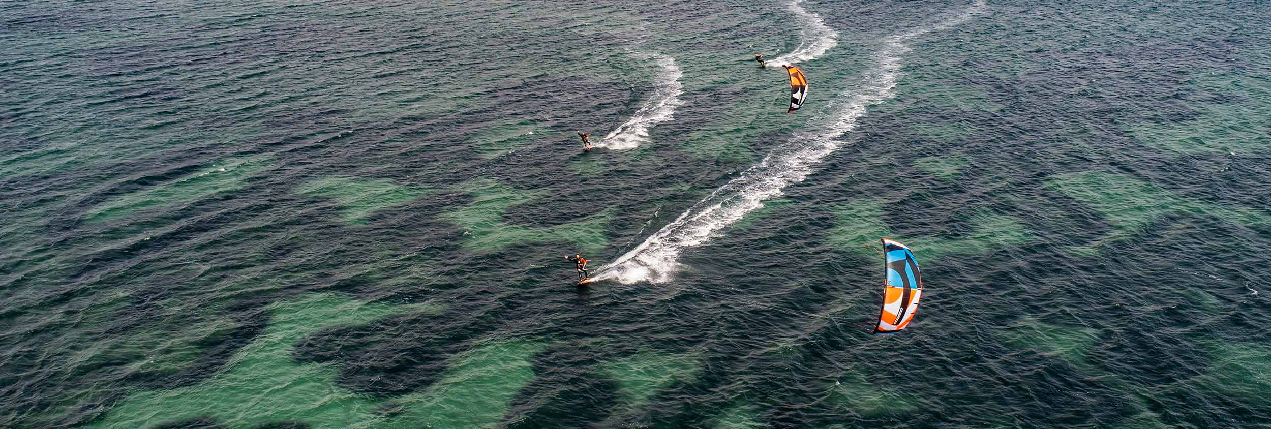 Kitesurfing, Sant Antioco, Sardinia