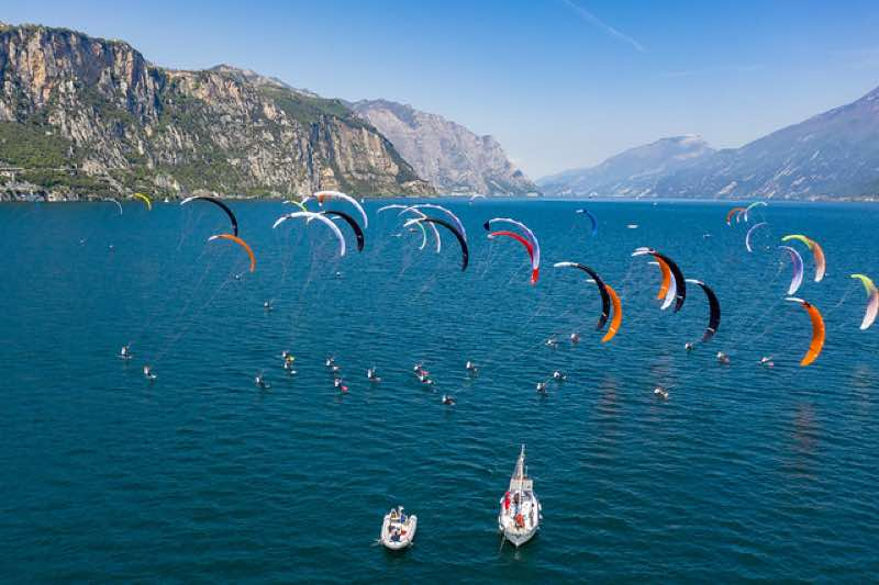 Olympic kite racing news