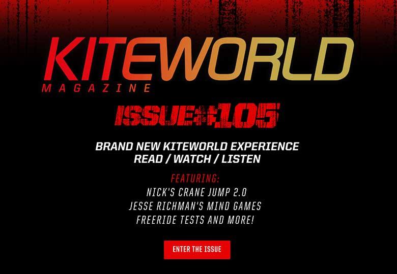 Kiteworld issue 105 kiteboarding magazine