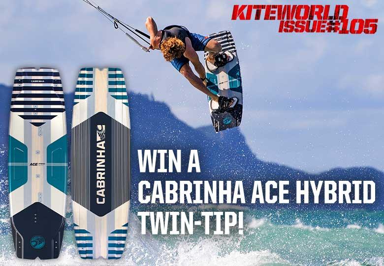 Win a Cabrinha Ace Hybrid kiteboard in Kiteworld