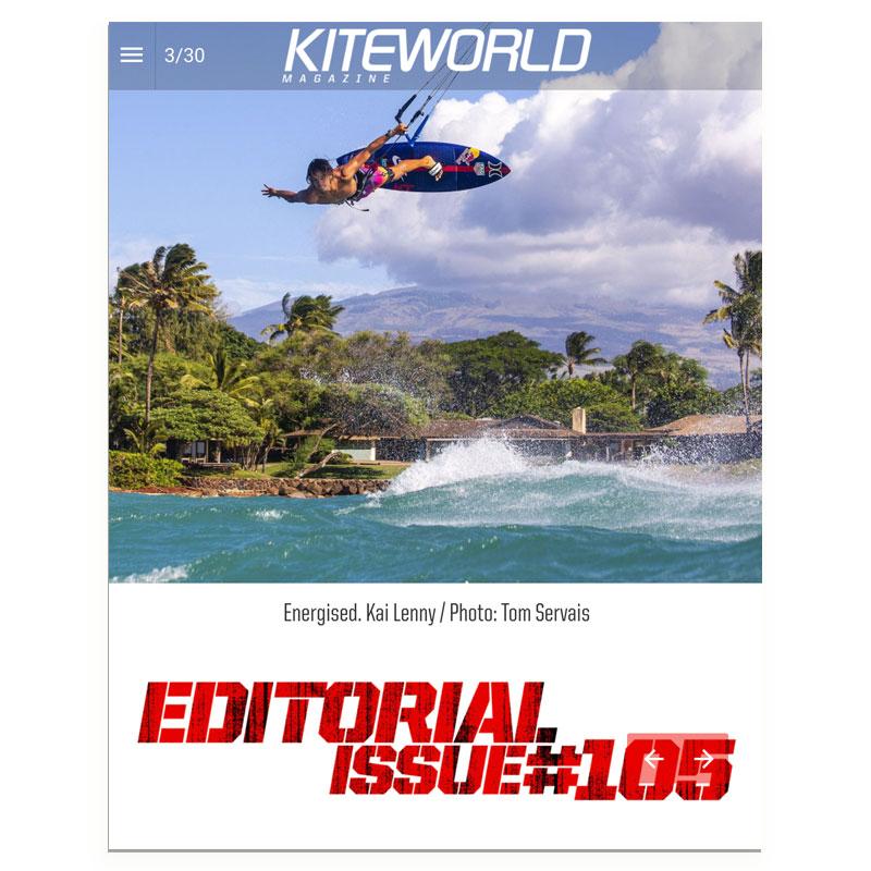 Kai Lenny in Kiteworld Magazine