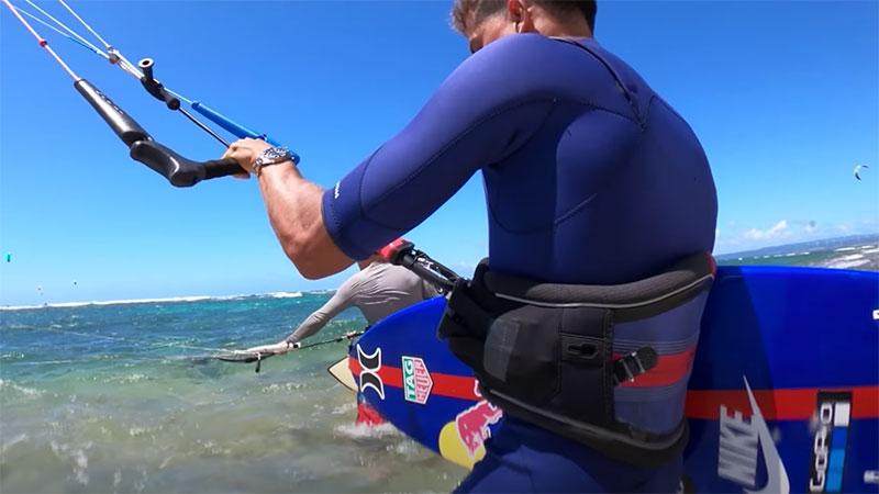 Kai Lenny kitesurfing Oahu Hawaii