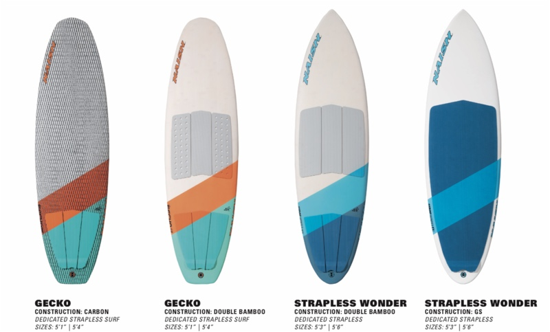 Surfboards from Naish