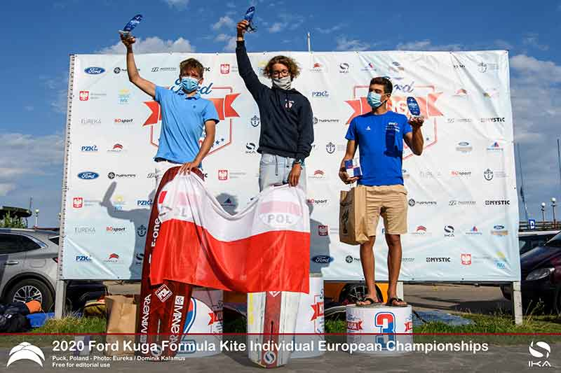 Ford Kuga Formula Kite Europeans Top 3 Men (U17)