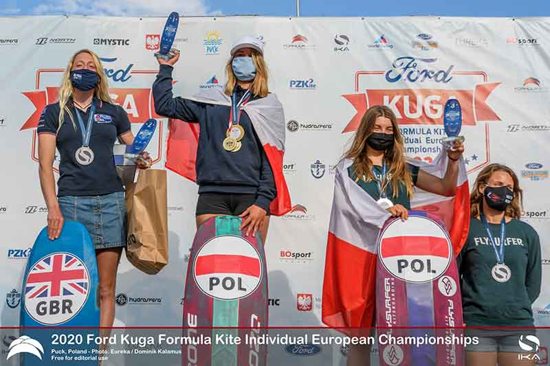 Ford Kuga Formula Kite Europeans Top 3 Women