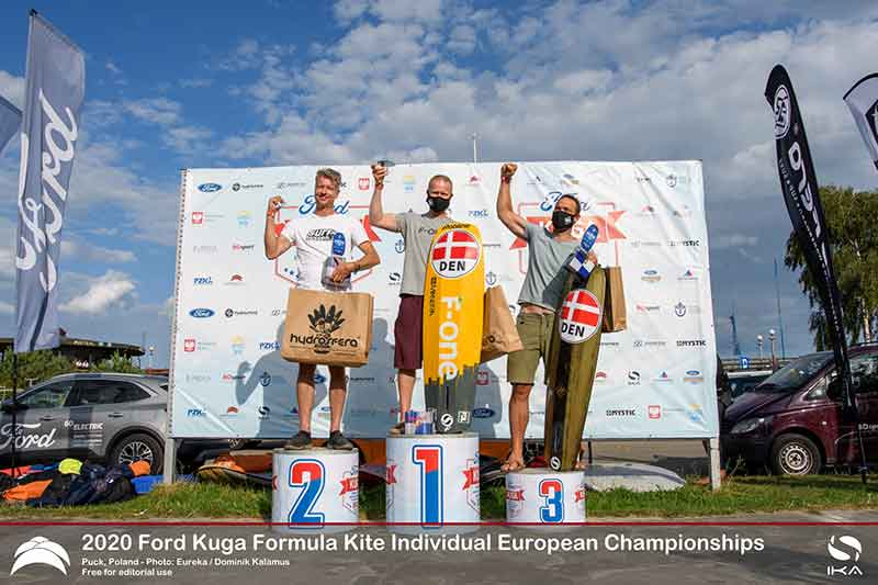 Ford Kuga Formula Kite Europeans Top 3 Grand Masters