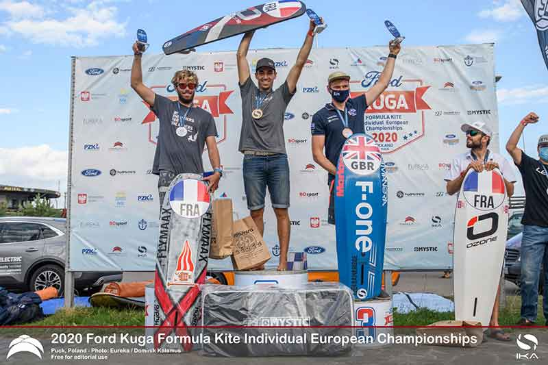 Ford Kuga Formula Kite Europeans Top 3 Men