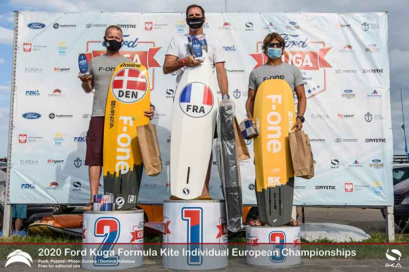 Ford Kuga Formula Kite Europeans Top 3 Masters