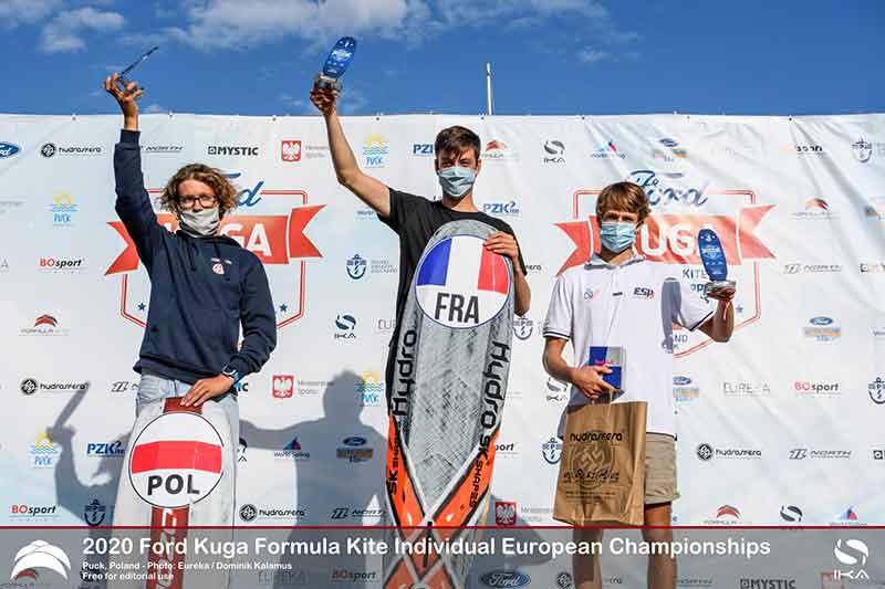 Ford Kuga Formula Kite Europeans Top 3 Men (U19)