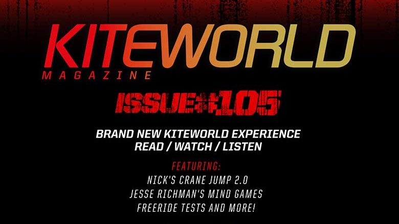 Cover of free Kiteworld Issue 105