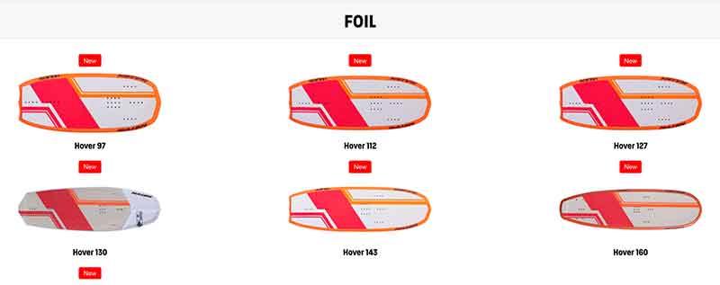 Naish S25 Foils