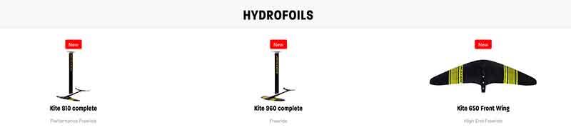 Naish S25 Hydrofoils