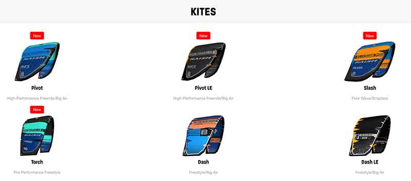 Naish S25 Kites