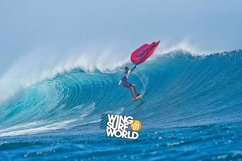 Titoua Galea interview Wing Surf World magazine