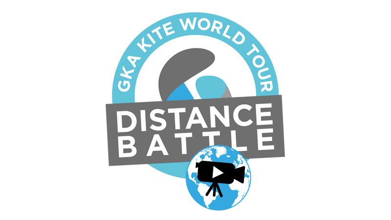 GKA Distance Battle kiteboarding competition