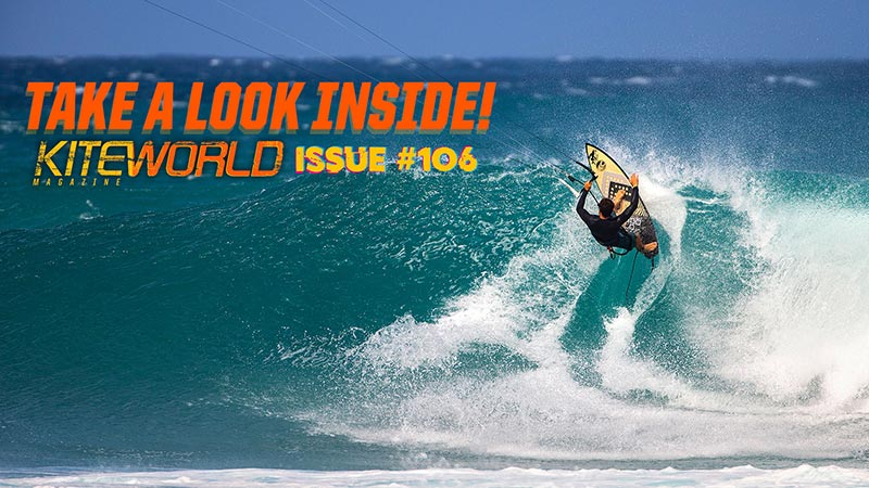 Kiteworld Issue #106 - kitesurfing magazine