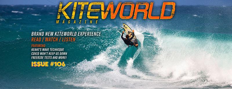 Kiteworld Magazine issue 106 with Keahi de Aboitiz