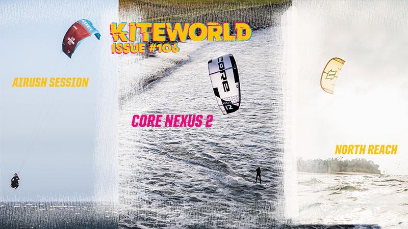 Kite reviews in Kiteworld Magazine Issue #106
