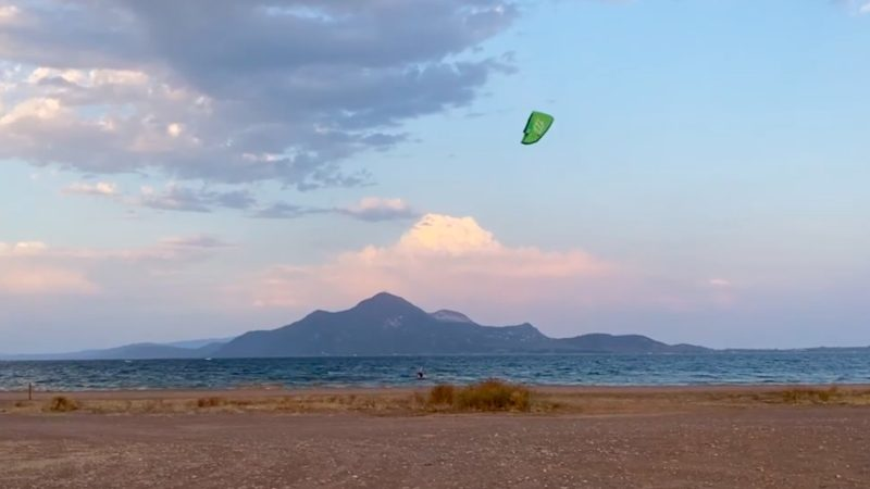 Greece kite trip 2020