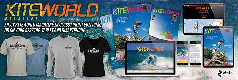 Subscribe to Kiteworld Magazine