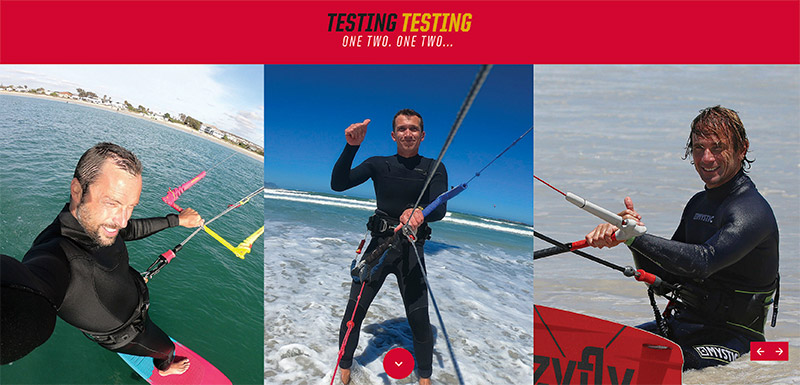 The Kiteworld magazine test team