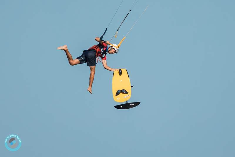 Maxime Chabloz GKA Superfoil Brazil kite hydrofoil freestyle