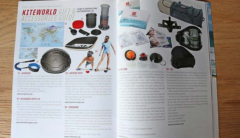 Gift and Accessory guide for kitesurfers