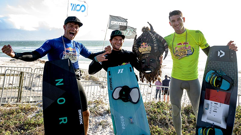 Nick Jacobsen, Jesse Richman and Aaron Hadlow