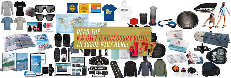 Gift and accessories for kitesurfers for Christmas