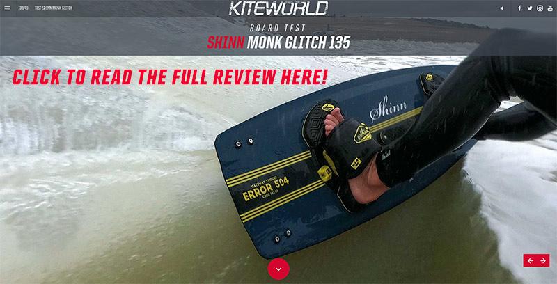 Shinn Monk Glitch kiteboard review