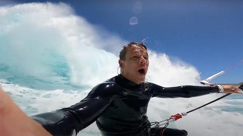 Kevvlog big waves