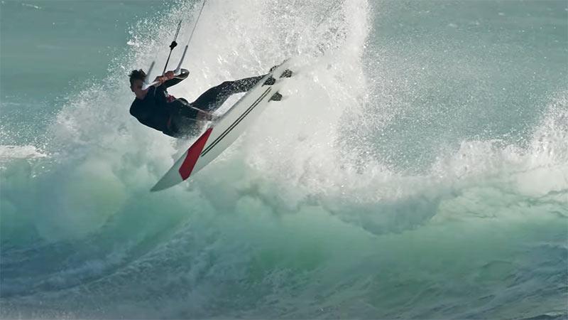 Kevin Langeree kiteboarder