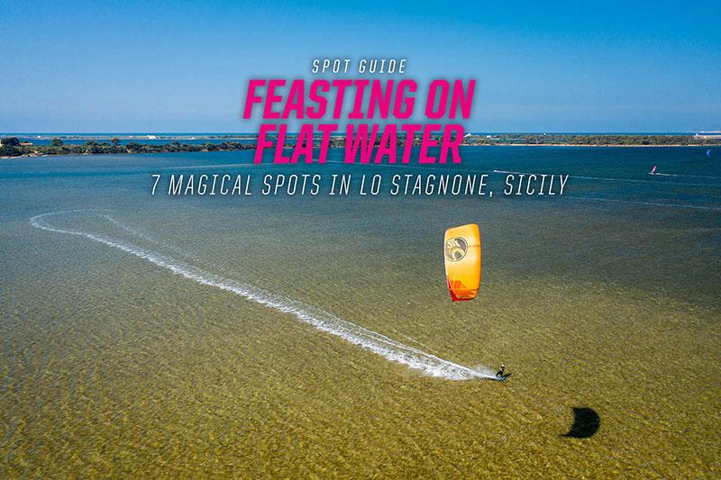 Guide to kiteboarding in Sicily