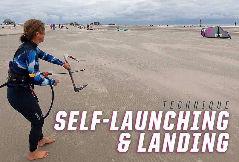 Self Launching and Landing