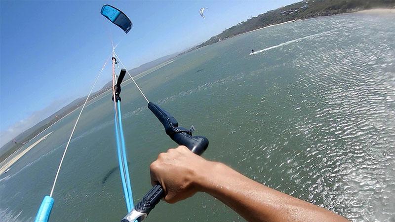Airush Union test POV kite loop